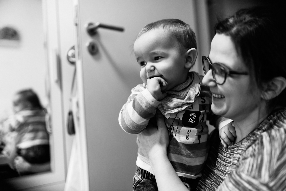 Mama und Kind Familienreportage