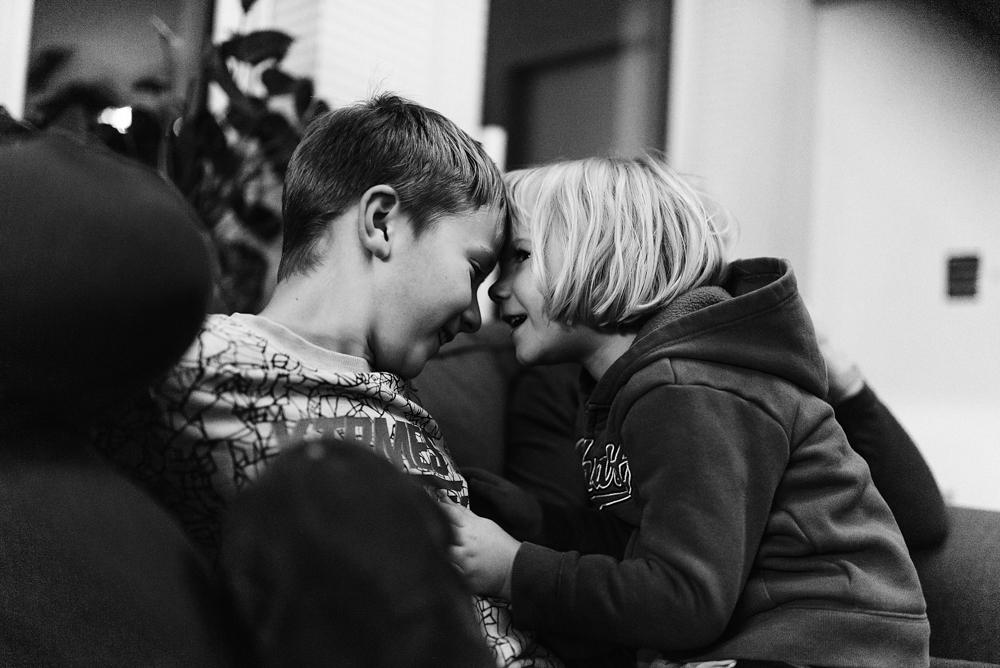 Dicke Freunde, Familienfotografie